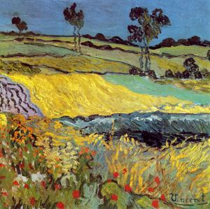 La Plaine D'Auvers by Vincent van Gogh