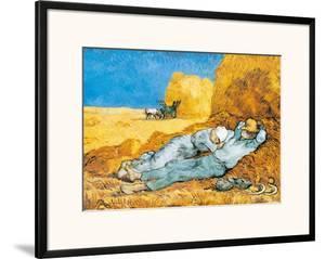La Siesta by Vincent van Gogh