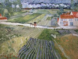 Landscape at Auvers after Rain, 1890 by Vincent van Gogh