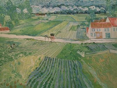 Landscape at Auvers after the Rain, c.1890 by Vincent van Gogh