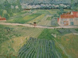 Landscape at Auvers after the Rain, c.1890 by Vincent van Gogh