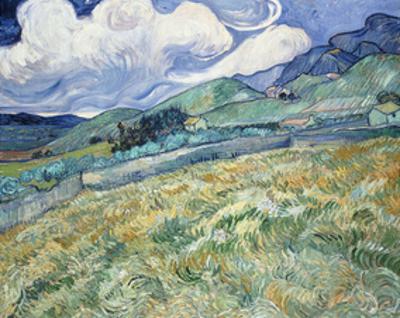 Landscape from Saint-Remy, 1889 by Vincent van Gogh
