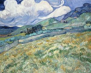Landscape from Saint-Remy, 1889 by Vincent van Gogh