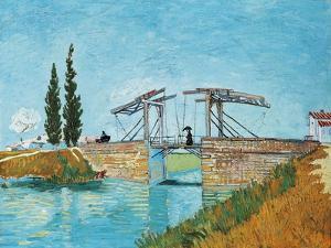Langlois Bridge at Arles by Vincent van Gogh