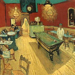 Le Café De Nuit, Place Lamartine by Vincent van Gogh