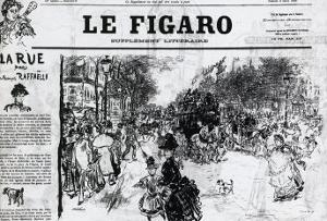 Le Figaro by Vincent van Gogh