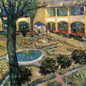 Le Jardin De L'Hopital D'Arles by Vincent van Gogh