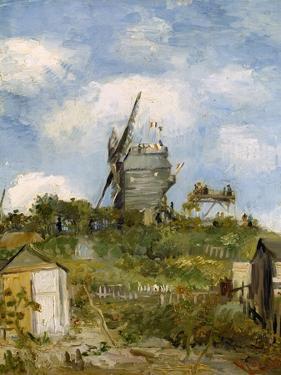 Le Moulin De Blute-Fin, Montmartre, 1886 by Vincent van Gogh