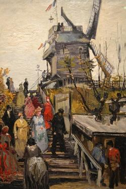 Le Moulin De Blute-Fin by Vincent van Gogh