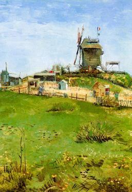 Vincent Van Gogh Le Moulin de la Galette 4 Art Print Poster