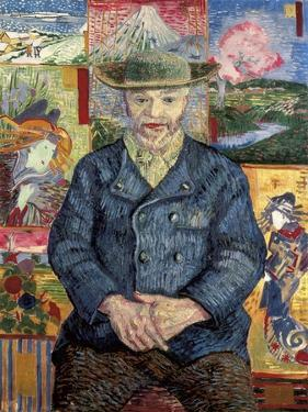 Le pere Tanguy by Vincent van Gogh