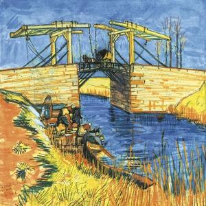 Le Pont De Langlois a Arles, 1888 by Vincent van Gogh