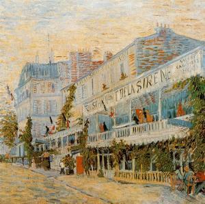 Le Restaurant De La Sirène A Asnieres by Vincent van Gogh