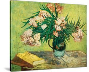 Les Lauriers Roses by Vincent van Gogh