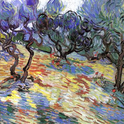Les Oliviers by Vincent van Gogh