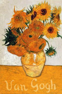 Les Tournesols by Vincent van Gogh