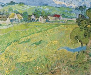 """""""Les Vessenots"""" in Auver, 1890 by Vincent van Gogh"""
