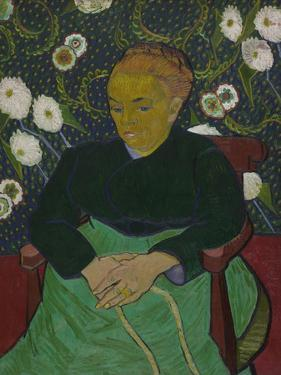 Madame Roulin Rocking the Cradle (La Berceuse), 1889 by Vincent van Gogh
