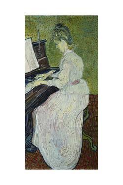 Mademoiselle Gachet Playing the Piano, 1890 by Vincent van Gogh