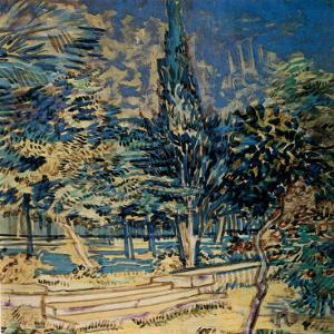 Marches De Pierres Dans Le Jardin De L'Hospice by Vincent van Gogh