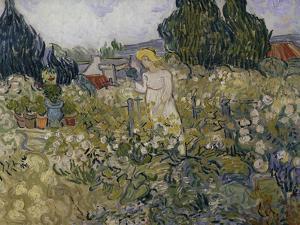 Marguerite Gachet in Her Garden, c.1890 by Vincent van Gogh
