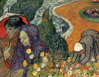 Memory of the Garden at Etten (Ladies of Arles), 1888 by Vincent van Gogh