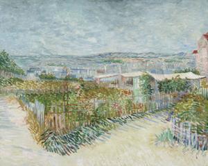 Montmartre: Behind the Moulin de la Galette, 1887 by Vincent van Gogh