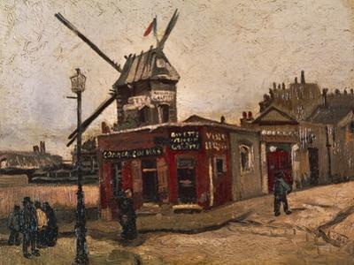 Moulin De La Galette by Vincent van Gogh