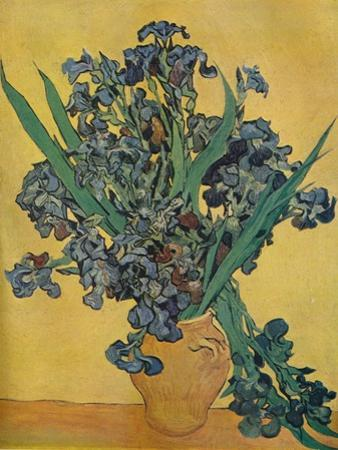 'Nature Morte: Iris', 1890 by Vincent van Gogh