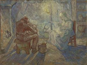 Night (After Mille), 1889 by Vincent van Gogh