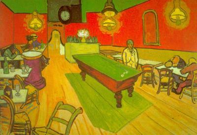Vincent Van Gogh Night Cafe Art Print Poster