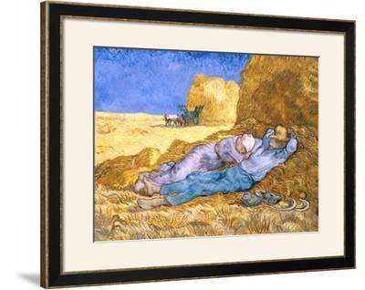 Noon: Rest from Work (after Millet), c.1890 by Vincent van Gogh