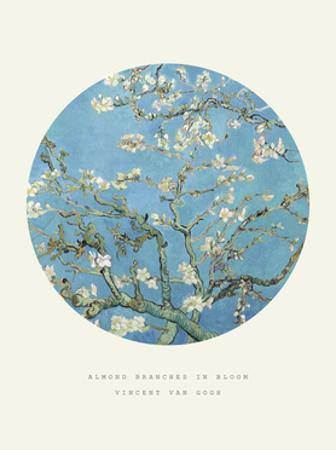 Old Masters, New Circles: Almond Branches in Bloom, San Remy, c.1890