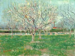 Orchard in Blossom, 1880 by Vincent van Gogh