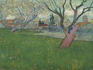 Orchards in Blossom, View of Arles, 1889 by Vincent van Gogh