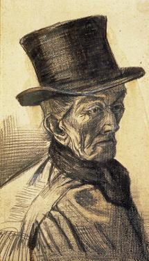 Orphan Man with Top Hat by Vincent van Gogh