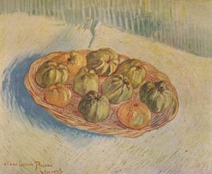'Panier Rempli De Pommes', 1887 by Vincent van Gogh