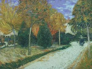 Path in the Park at Arles, c.1888 by Vincent van Gogh