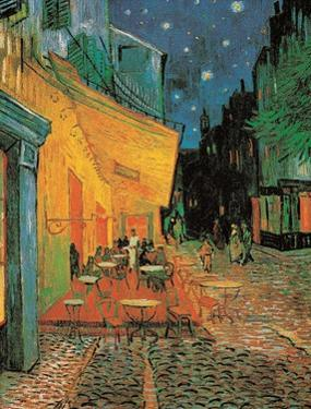 Pavement Cafe at Night by Vincent van Gogh