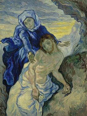 Pieta, 1890 by Vincent van Gogh