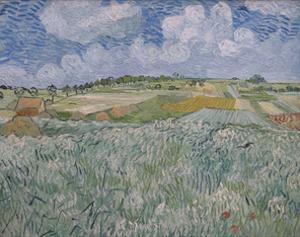 Plain Near Auvers, 1890 by Vincent van Gogh