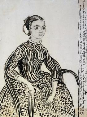 Portrait of a Young Lady (La Mousm), 1888 by Vincent van Gogh
