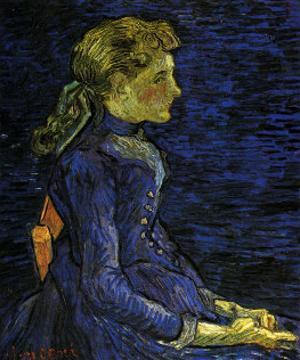 Portrait of Adeline Ravoux by Vincent van Gogh