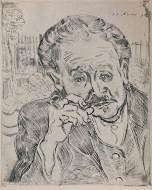 'Portrait of Dr. Gachet', c.1890, (1946) by Vincent van Gogh
