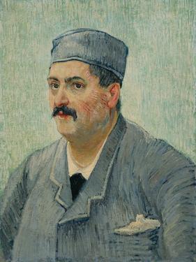 Portrait of Etienne-Lucien Martin, 1887 by Vincent van Gogh
