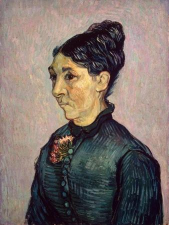 Portrait of Madame Jeanne Lafuye Trabuc, 1889 by Vincent van Gogh