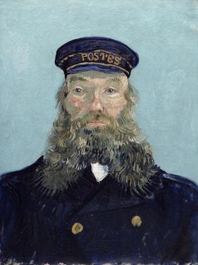 Portrait of Postman Roulin, 1888 by Vincent van Gogh