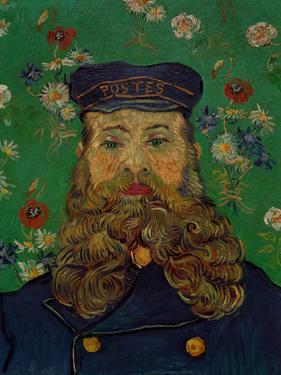 Portrait of the Postman Joseph Roulin, c.1889 by Vincent van Gogh
