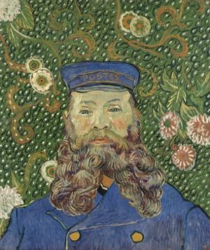 Portrait of the Postman Joseph Roulin by Vincent van Gogh
