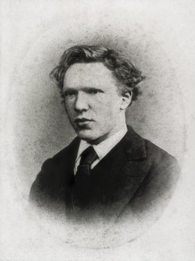 Portrait of Vincent Van Gogh at Age 18 by Vincent van Gogh